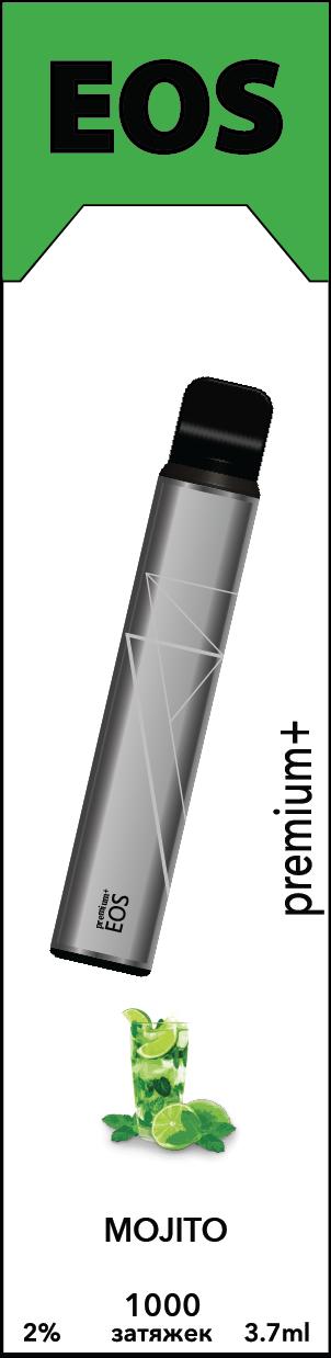 EOS e-stick Premium Plus MOJITO (2% 3.7ml 1000 затяжек)