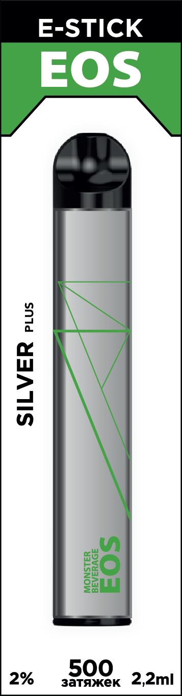 EOS e-stick Silver Plus MONSTER BEVERAGE (2% 2.2ml 500 затяжек)