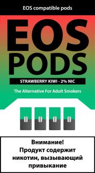 EOS PODS (4шт) STRAWBERRY KIWI (2% 1pod=1ml)