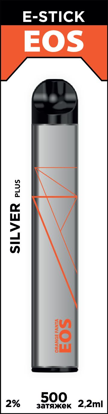 EOS e-stick Silver Plus ORANGE FANTA (2% 2.2ml 500 затяжек)
