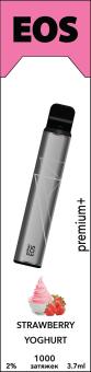 EOS e-stick Premium Plus STRAWBERRY YOGHURT (2% 3.7ml 1200 затяжек)