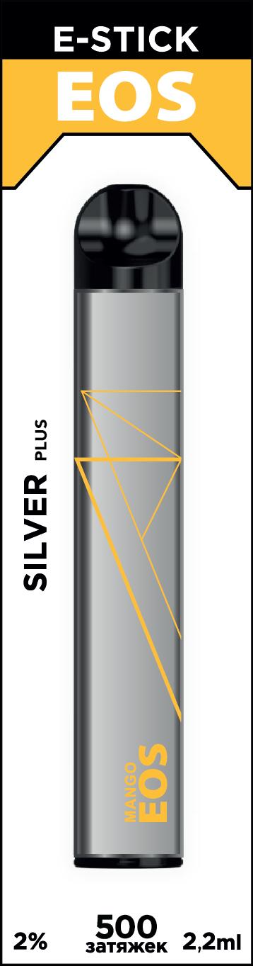 EOS e-stick Silver Plus MANGO (2% 2.2ml 500 затяжек)