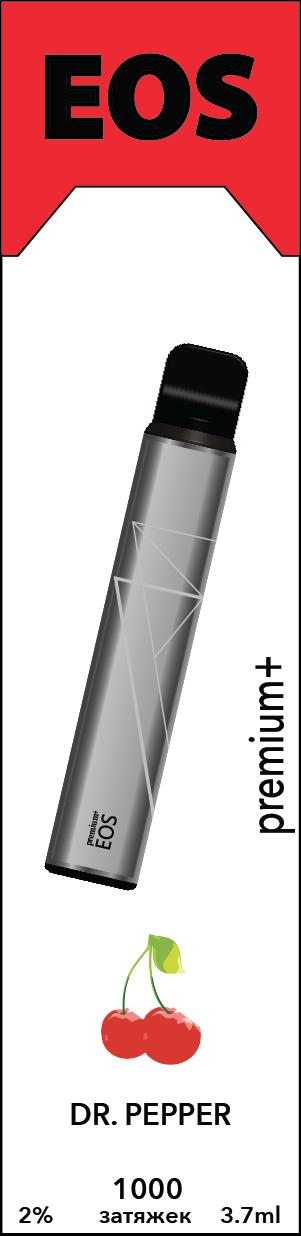 EOS e-stick Premium Plus DR. PEPPER (2% 3.7ml 1000 затяжек)