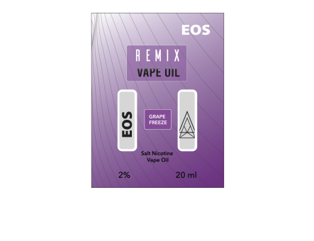 EOS REMIX SALT NIC GRAPE FREEZE 2% 20ml