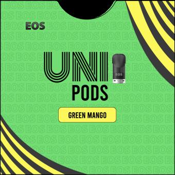 EOS UNIPODS GREEN MANGO (2 pods 4ml)