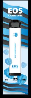 EOS Cube One BLUE RASPBERRY MINT (2% 5ml 1500 затяжек)