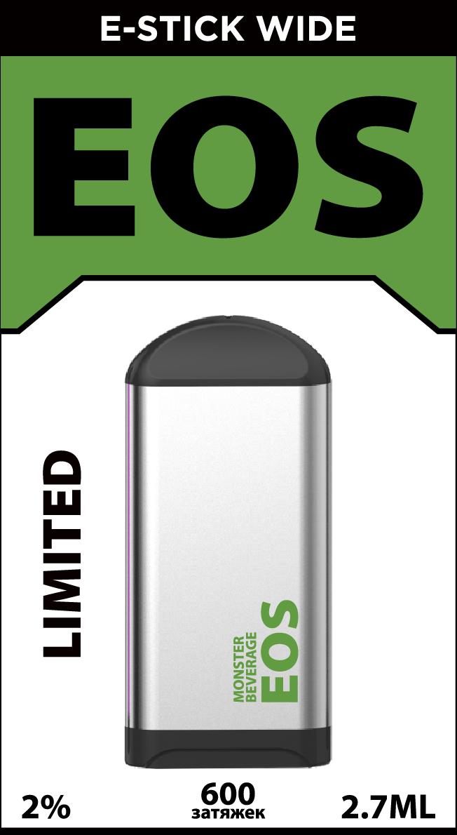 EOS e-stick Wide MONSTER BEVERAGE (4% 2.7ml 600 затяжек)