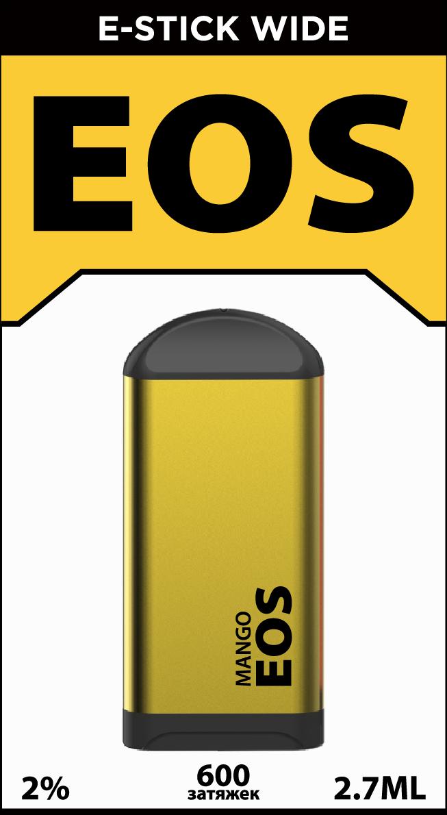 EOS e-stick Wide MANGO (4% 2.7ml 600 затяжек)