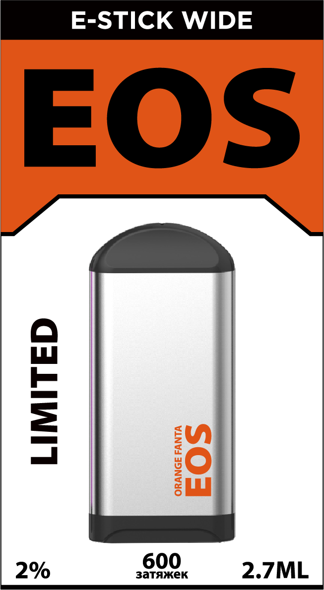 EOS e-stick Wide ORANGE FANTA (4% 2.7ml 600 затяжек)
