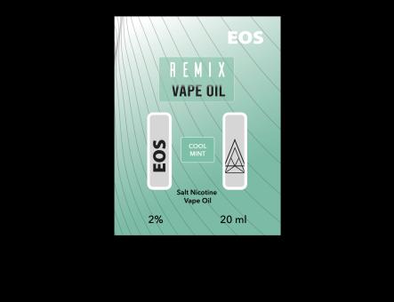 EOS REMIX SALT NIC COOL MINT 2% 20ml