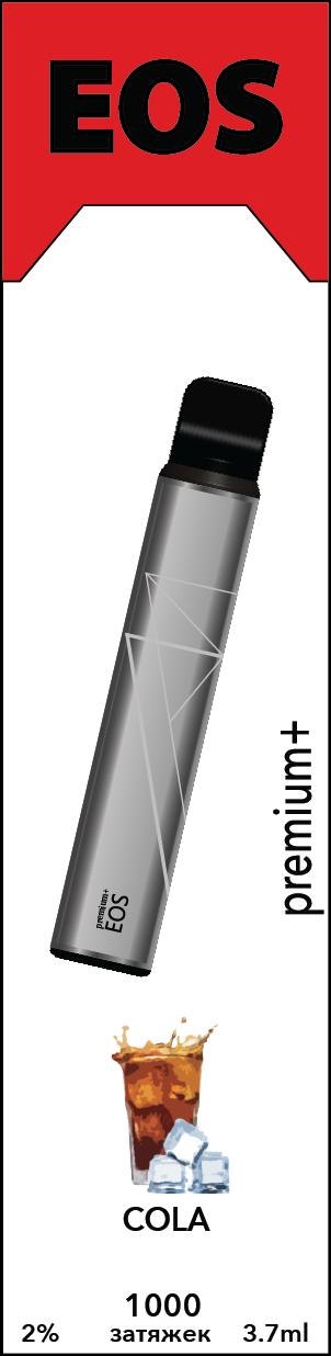 EOS e-stick Premium Plus COLA (2% 3.7ml 1000 затяжек)