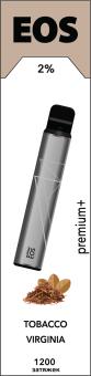 EOS e-stick Premium Plus TOBACCO VIRGINIA (2% 3.7ml 1200 затяжек)