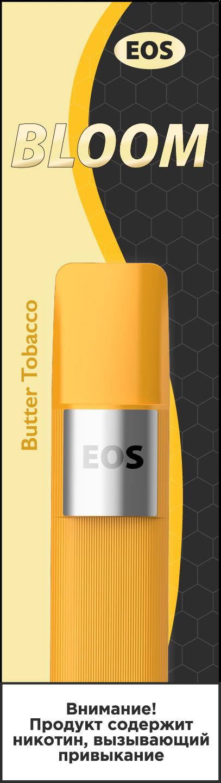 EOS Bloom (Ceramic Core) BUTTER TOBACCO (2% 1.6 ml 600 затяжек)