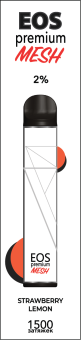 EOS Premium Mesh STRAWBERRY LEMON (2% 6.5 ml 1500 затяжек)