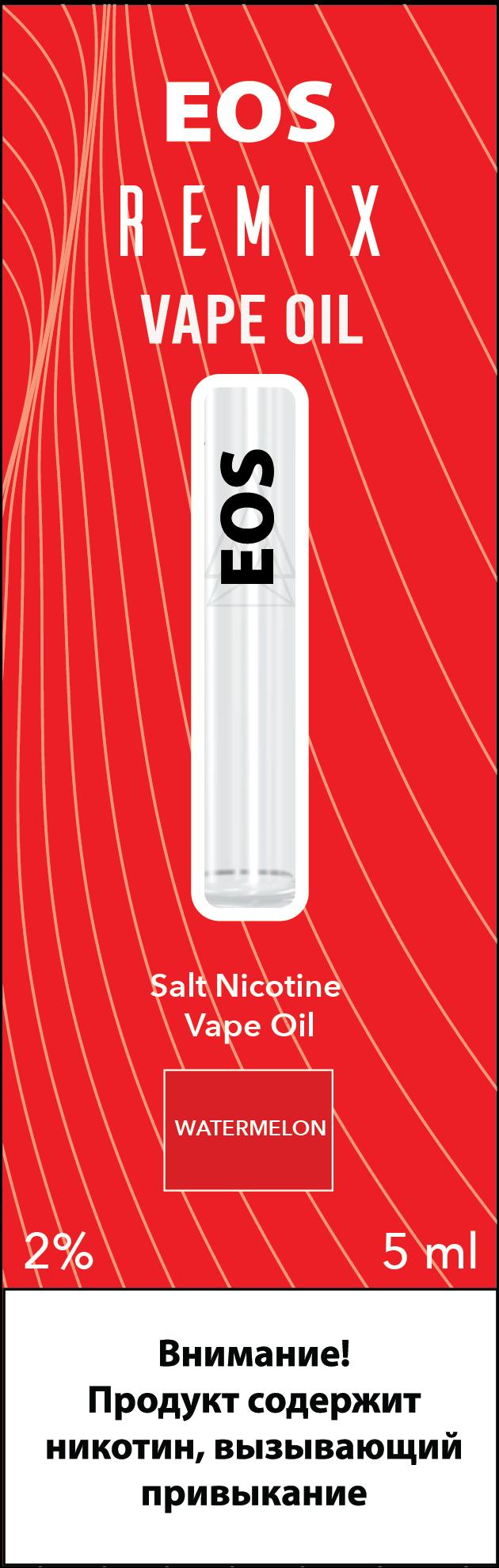 EOS REMIX SALT NIC WATERMELON 2% 5ml