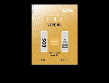 EOS REMIX SALT NIC MANGO 2% 20ml