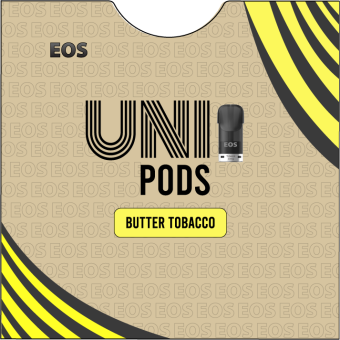EOS UNIPODS BUTTER TOBACCO (2 pods 4ml)